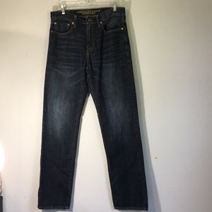 American Eagle Mens Jeans Relaxed Straight 32 x 36